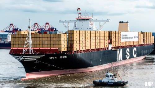 Rederij MSC gaat zoeken naar verloren containers