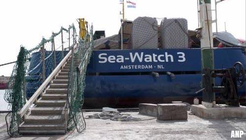 Sea-Watch 3 vaart voorlopig nog niet uit