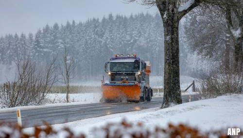 Ook België en Frankrijk kampen met sneeuw [+foto's]