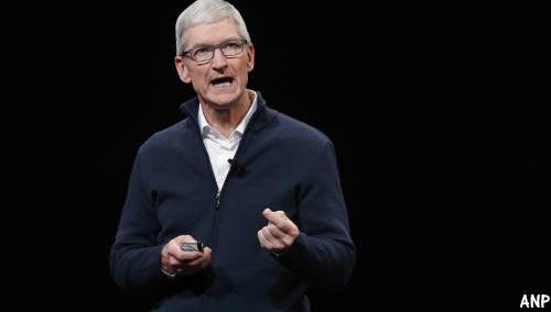 Miljoenenbonus voor Apple-baas Cook