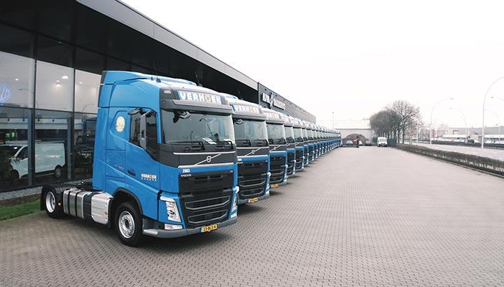 Verhoek Europe kiest weer voor Volvo Trucks [+foto's&video]