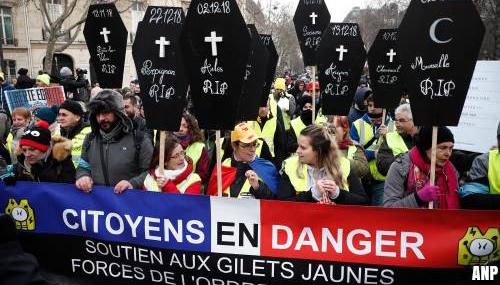 Tiende zaterdag van protesten 'gele hesjes'