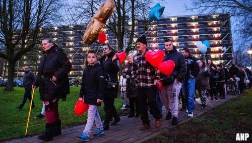 Stille tocht Arnhem voor doodgestoken jongen