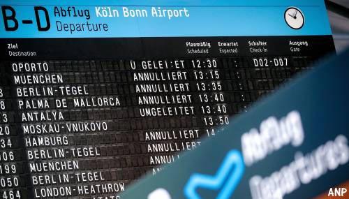 643 vluchten geschrapt door staking Duitsland