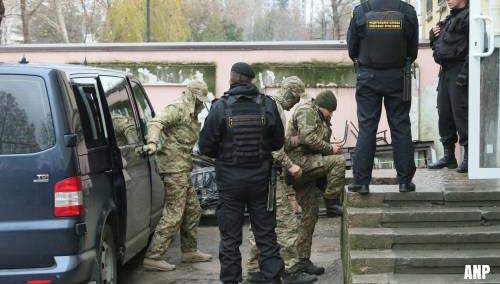 Oekraïense zeelieden blijven vast zitten