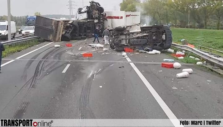 A73 weer open na dodelijk ongeval [+foto's]