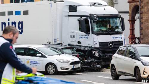 Aanrijding met vrachtwagen in Limburg is aanslag