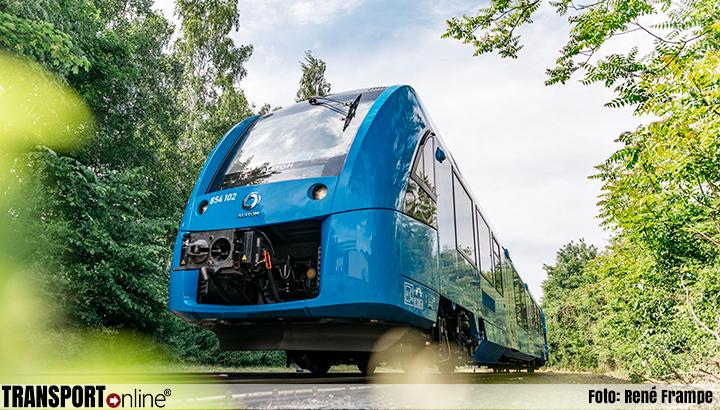 Proef in Nederland met waterstoftrein tussen Groningen en Leeuwarden