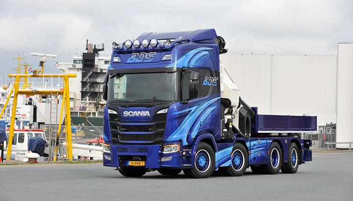 Nieuwe Scania R500 voor BDS Harlingen