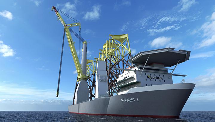 Boskalis verwerft opdracht voor Taiwanese offshore windparken en kondigt nieuw kraanschip Bokalift 2 aan