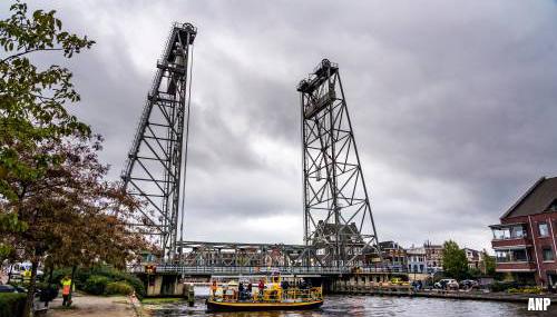 'Versterken brug Boskoop duurt zeker twee weken'