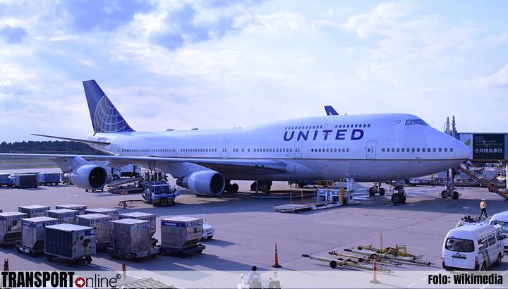 Voorzorgslanding op United Airlines-vlucht naar Amsterdam