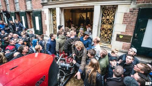 Verdachten boerenprotest Groningen vrijgelaten