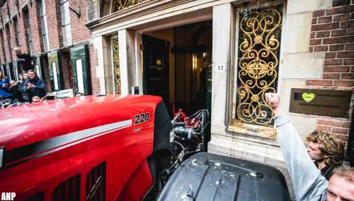 Aangifte CdK in Groningen na slopen deur provinciehuis