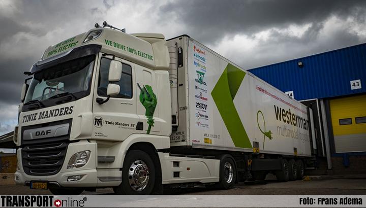 Emissievrij vervoer van geconditioneerde lading over langere afstand getest
