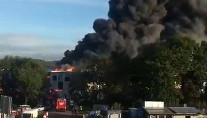 Gewonden door explosie bij afvalbedrijf in Linz [+foto&video]