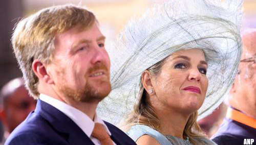 Koningspaar leeft mee met moeder van ontvoerde Insiya