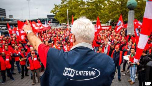 'Honderden cateringmedewerkers gaan staken'