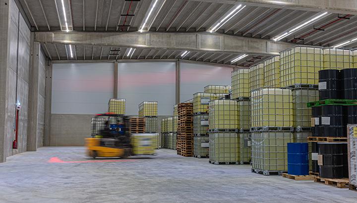 CJHendriks Group opent nieuwe warehouse voor verpakte gevaarlijke stoffen