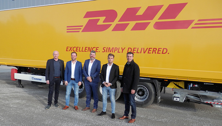 Heisterkamp Trailer Rental levert 120 nieuwe kastentrailers aan DHL Freight Nederland