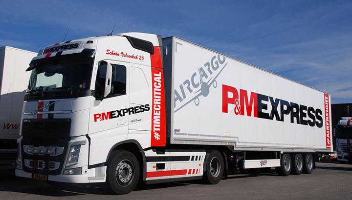 Nieuwe Talson trailer voor P & M Express