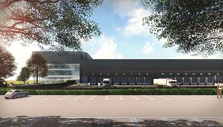 SEGRO en Aan de Stegge Twello bouwen nieuw warehouse op Schiphol Trade Park