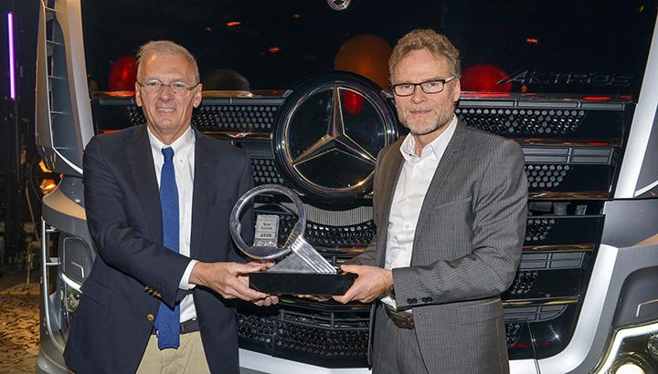 Mercedes-Benz Actros gekozen tot Truck of the Year 2020