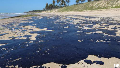 'Grieks schip veroorzaakte olielek Brazilië'