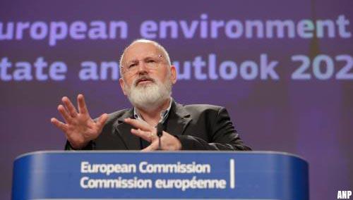 Timmermans wil roer om in EU voor het klimaat