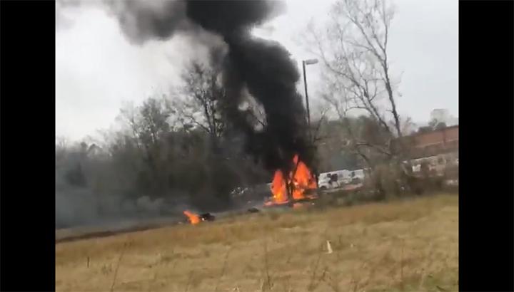 Vliegtuig crasht in Louisiana: doden en gewonden [+video]