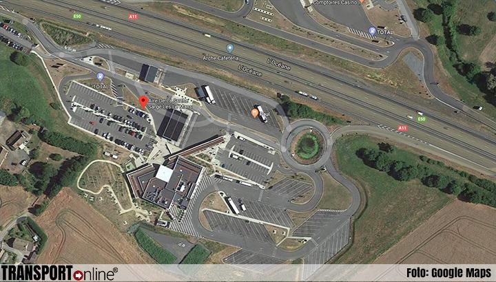Franse parkeerplaats langs A11 gesloten vanwege mensensmokkelaars