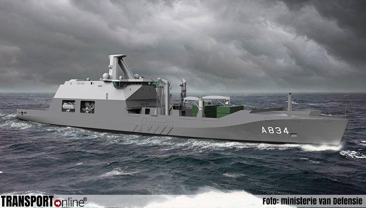 Damen bouwt nieuw Combat Support Ship Zr. Ms. Den Helder