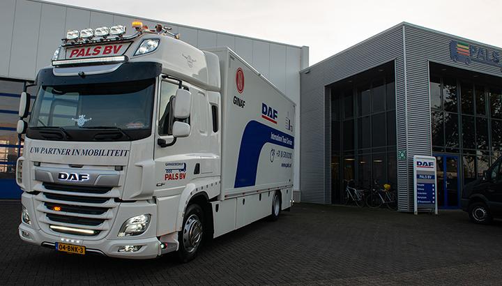 Nieuwe servicewagen voor Garagebedrijf Pals