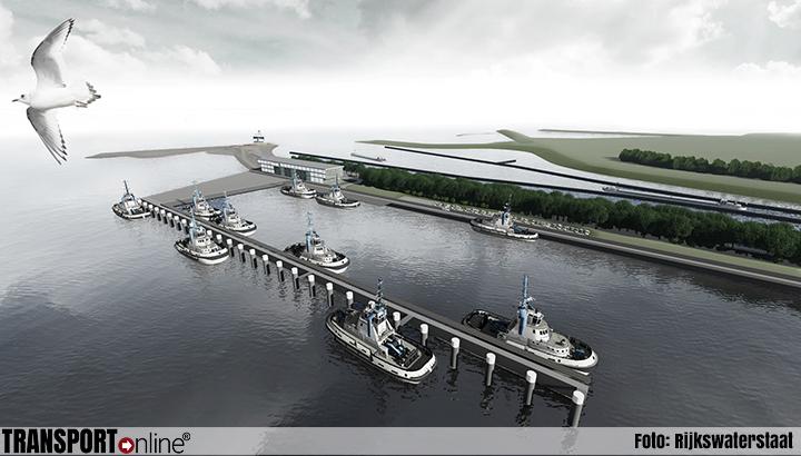 Start aanvang bouw dienstenhaven Nieuwe Sluis Terneuzen