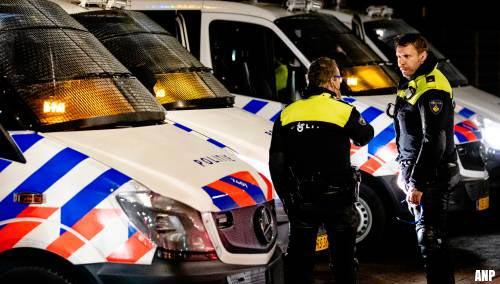Veel politie in en bij afgesloten Duindorp