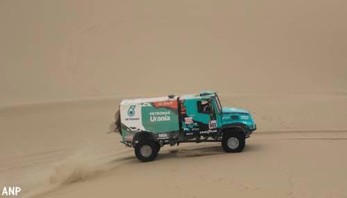 Gerard de Rooy blijft derde in Dakar Rally