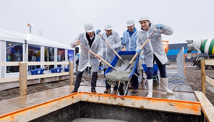 Bouw gestart 50.000m2 extra grondoppervlakte eigen fulfilment center bol.com Waalwijk