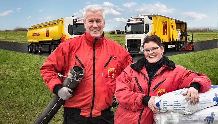 Ecotrans neemt diervoeder transportenactiviteiten Van Dijk over