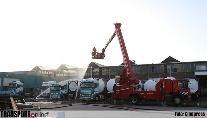 Stankoverlast door incident met tankcontainer [+foto]