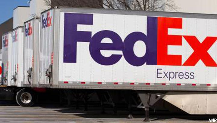 Pakketvervoerder FedEx voelt afzwakkende wereldeconomie