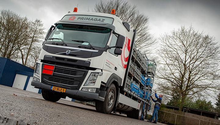 Jongeneel Transport neemt Volvo FM LNG-bakwagen in gebruik
