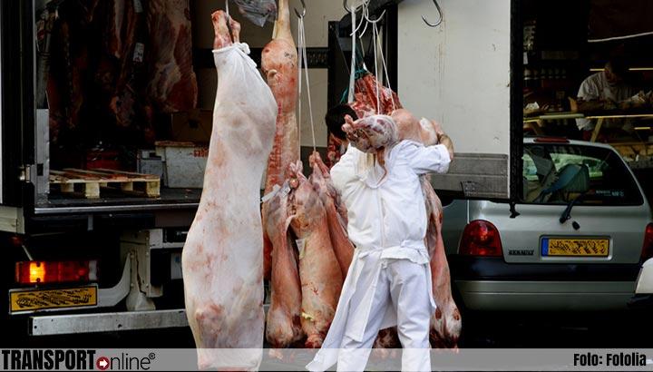 Fors aantal overtredingen tijdens transportinspectie vleestransport