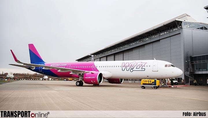 Wizz Air krijgt haar eerste A321neo vliegtuig afgeleverd