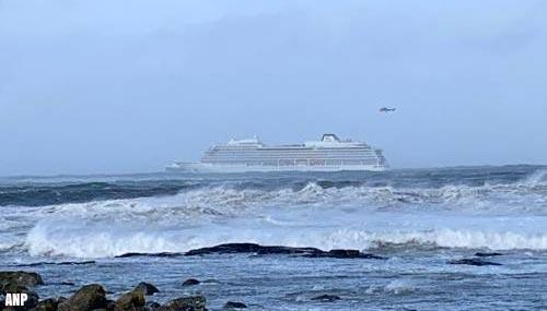 Evacuatie cruiseschip 'Viking Sky' bij Noorwegen stilgelegd