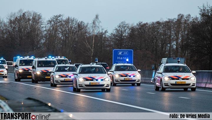 Politiebonden stoppen snelwegactie wegens schietpartij Utrecht [+foto]
