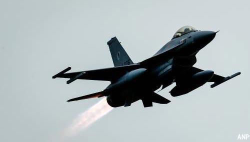 F-16 beschadigd door eigen munitie