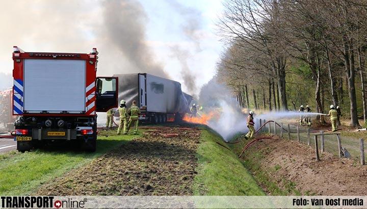 Dode bij ernstig ongeval op N381 [+foto's&video]
