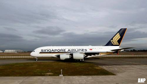 Singapore Airlines houdt Boeings aan de grond