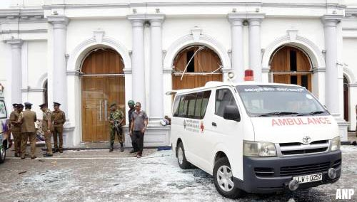 Eén Nederlander gedood bij aanslagen Sri Lanka