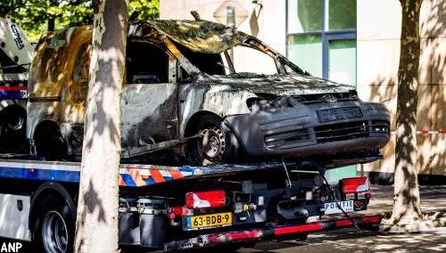 Bestuurder 'aanslagbusje' De Telegraaf onder arrestanten